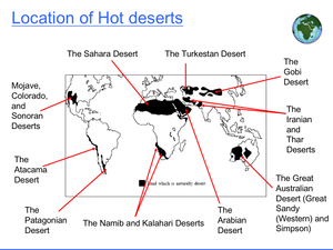 Hot Arid And Semi Arid Environments