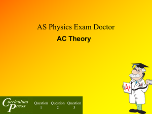 As Ac Theory