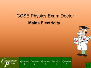 Gcse Physics Doctor Mains Electricity