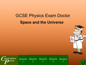 Gcse Physics Doctor Space And The Universe