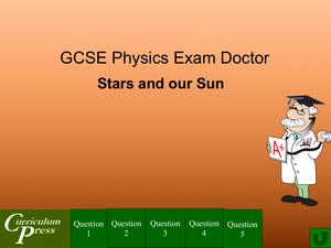 Gcse Physics Doctor Stars And Our Sun