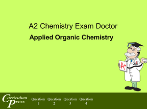 Al Ed A2 Applied Organic Chemistry