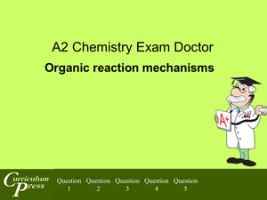 Al Ed A2 Organic Reaction Mechanisms