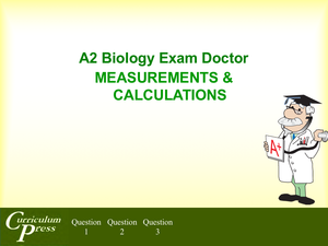 A2 19 Measurements And Calculations