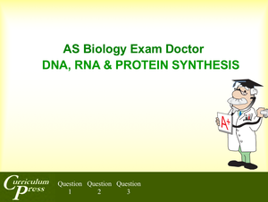 As 08 Dna,rna & Protein Synthesis