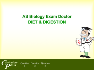 As 11 Diet & Digestion