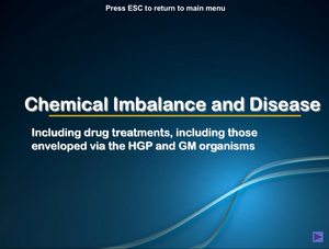 Al Bio Chemical Imbalance And Disease