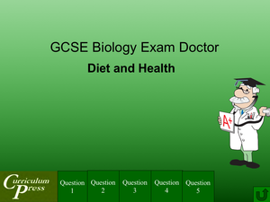 Gcse Biology Doctor Diet And Health
