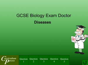 Gcse Biology Doctor Diseases