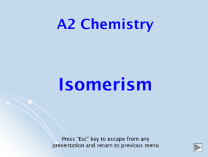 A2 Isomerism