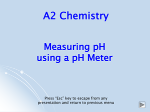 A2 Ph Measurement