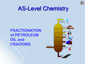 As Fractionation Of Petrol, Oil And Cracking
