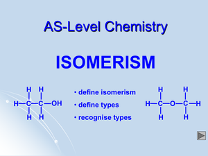 As Isomerism