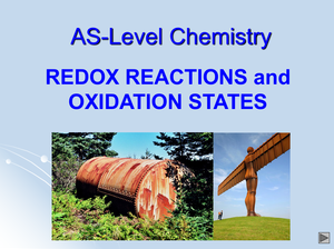 As Redox Reactions And Oxidation States