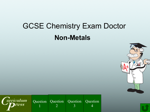 Gcse Chemistry Doctor Non Metals