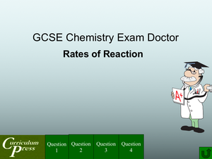 Gcse Chemistry Doctor Rates Of Reaction
