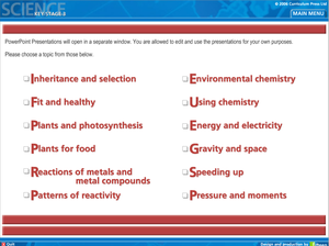 Physics Ks3 Science Powerpoints