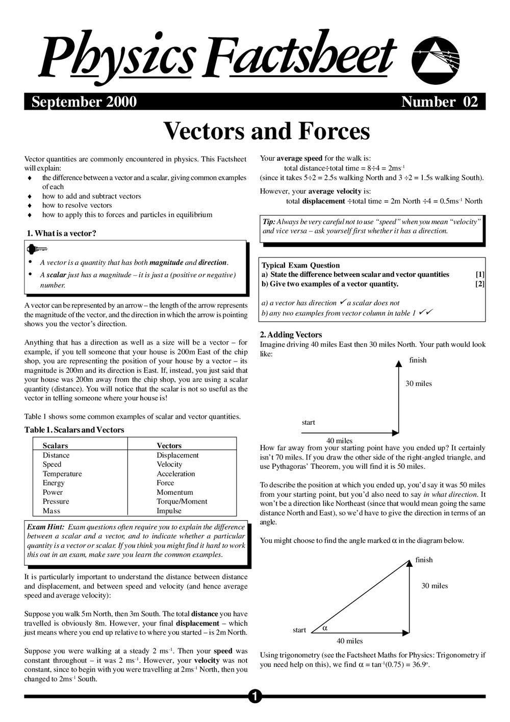 02 Vectors And Forces