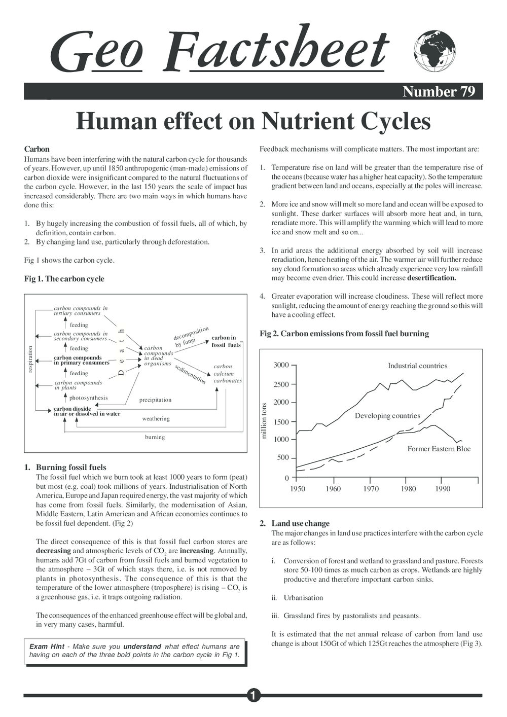 079 Human Effect Nutrient Cycles