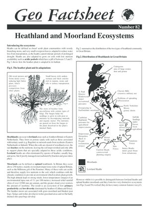 082 Heath Moorland Ecology