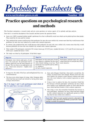 105 Questions Research