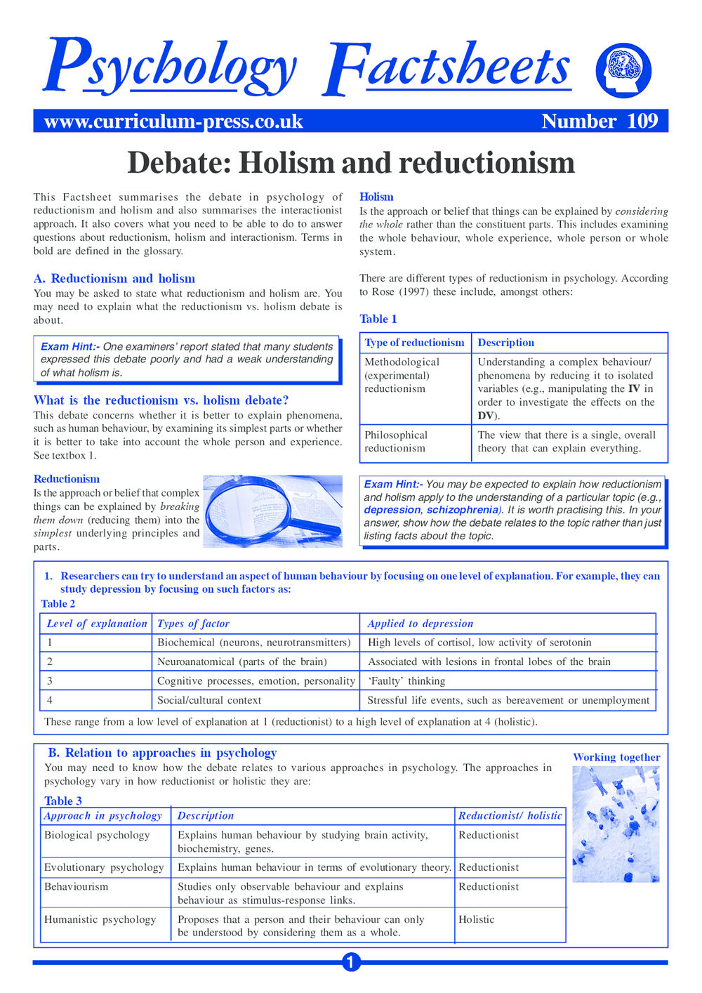 109 Holism And Reduct