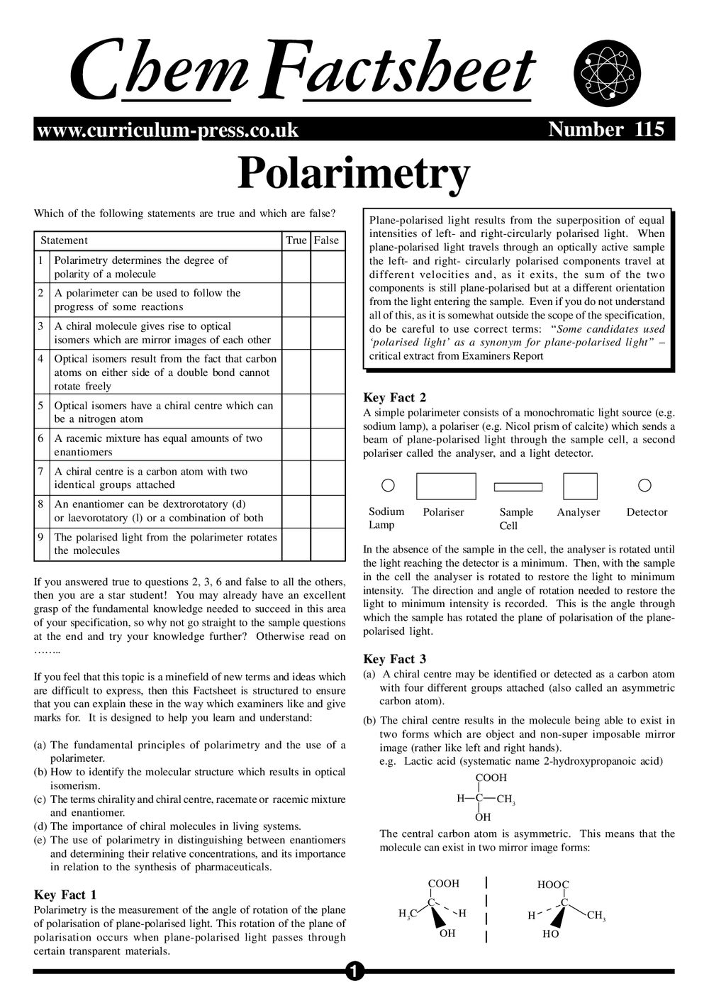115 Polarimetry