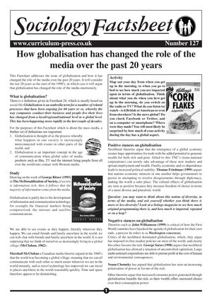 127 Globalisation Changed Role Of Media