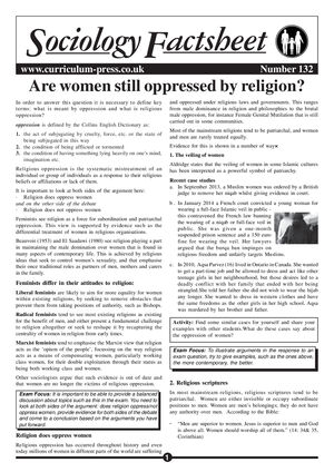 132 Are Women Still Oppressed By Religion