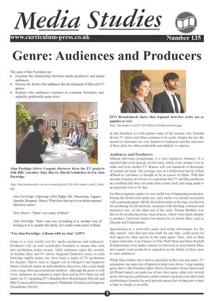 135 Genre Audiences And Producers