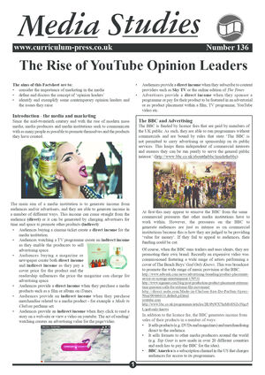 136 The Rise Of Youtube Opinion Leaders