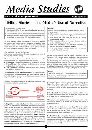 14 Narrative   Media Use