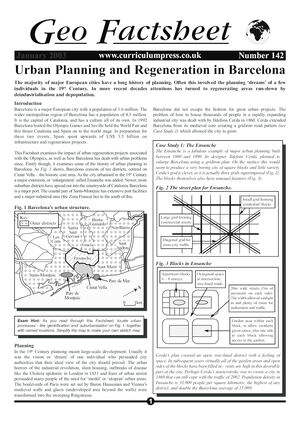 142 Barcelona Urban Planning