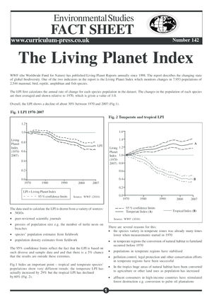 142 Living Planet Index
