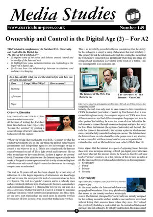 149 Ownership And Control In The Digital Age Ii