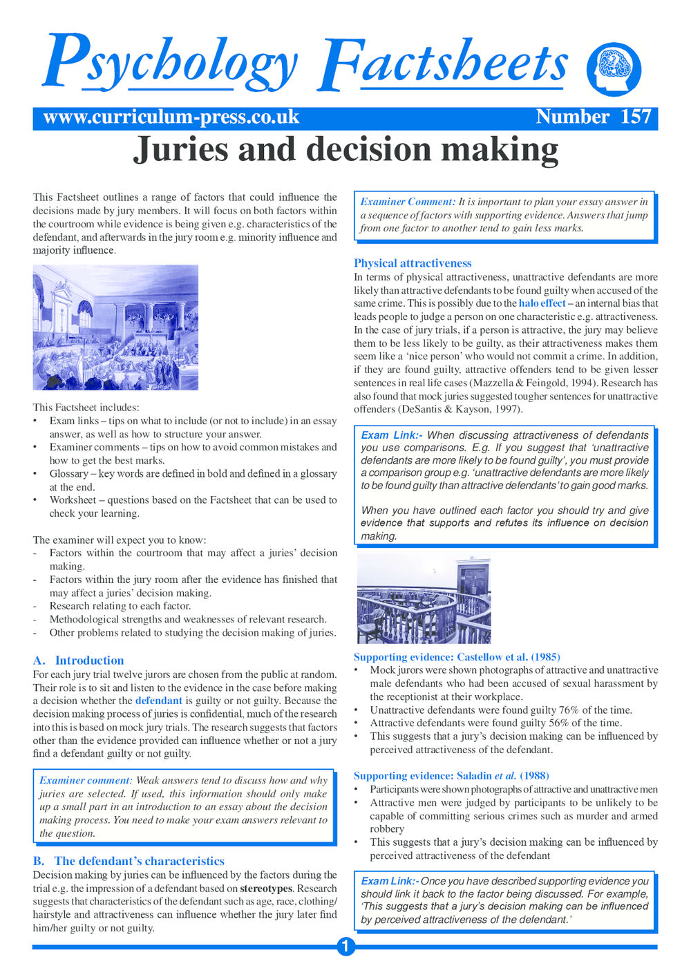 157 Juries And Decision Making