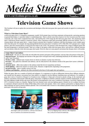 157 Tv Game Shows
