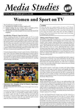 160 Women And Sport On Tv