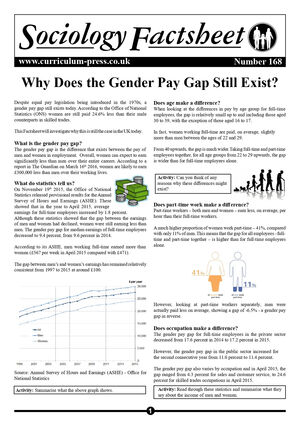 168 Gender Pay Gap