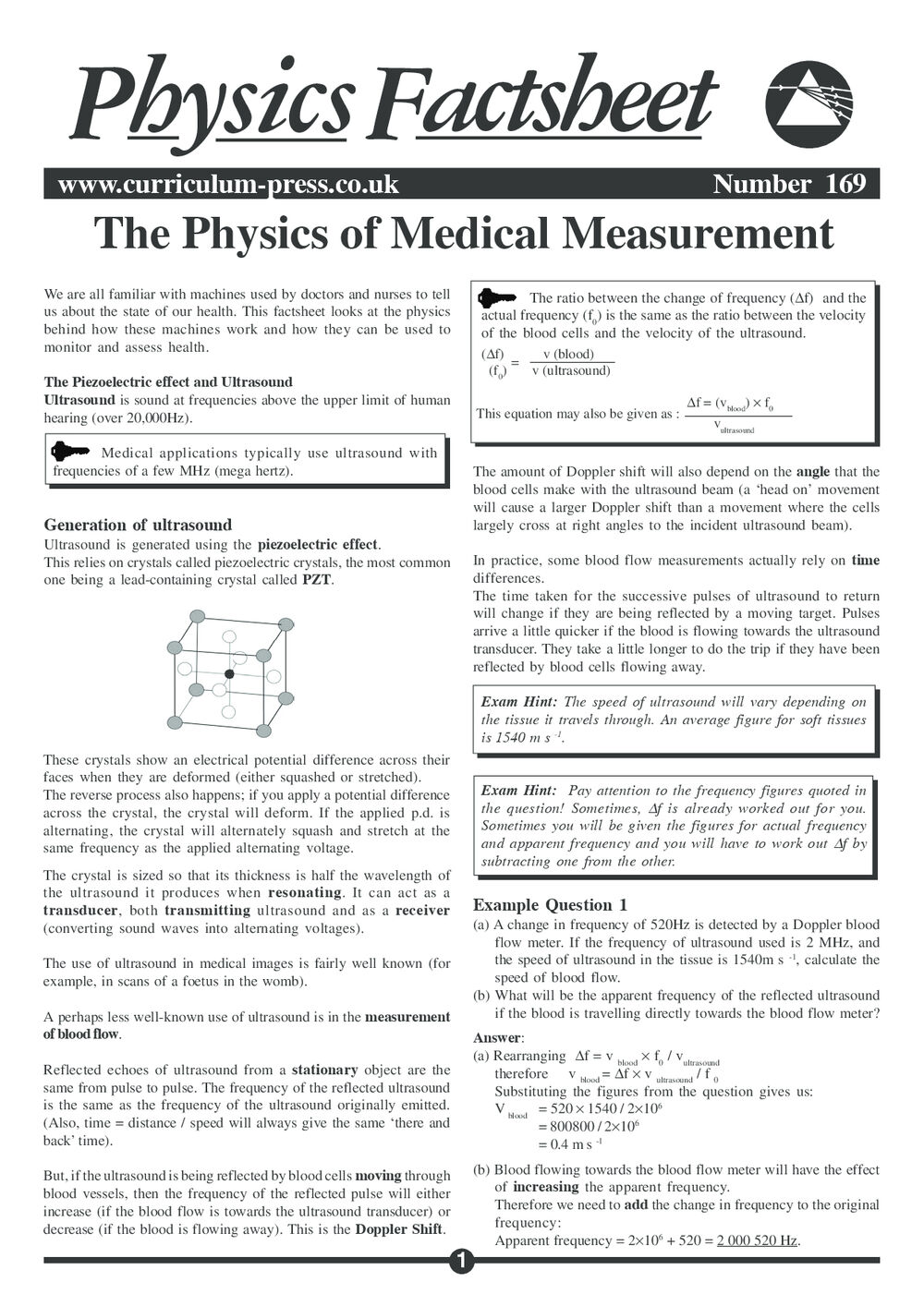 169 Medical Measurement