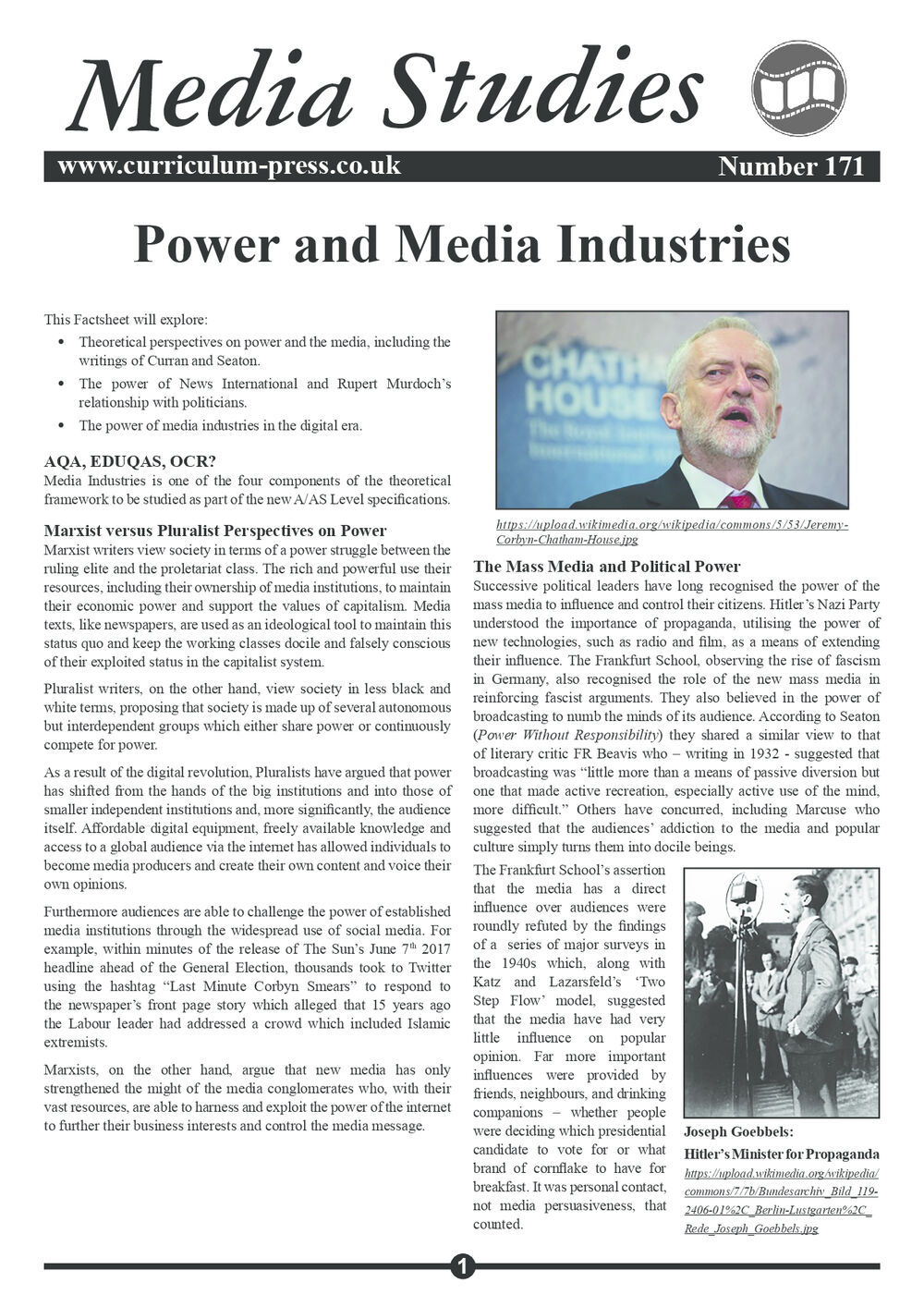 171 Power And Media Industries V2