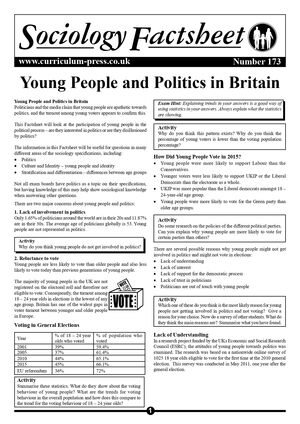 173 Young People And Politics In Britain