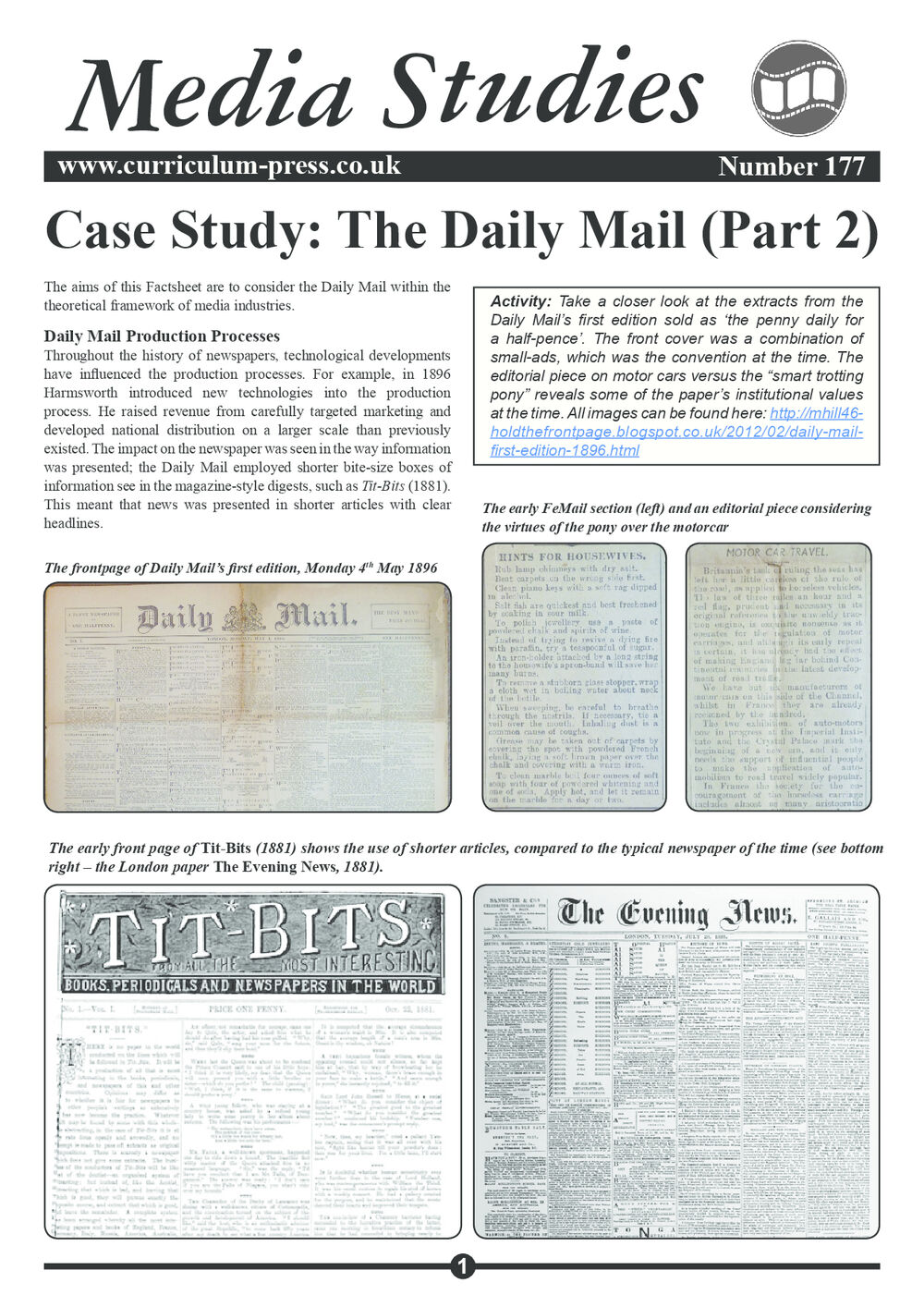 177 Daily Mail Case Study Part 2