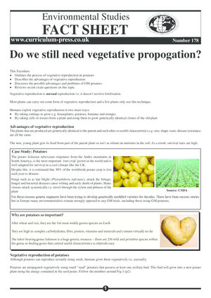 178 Vegetative Propagation