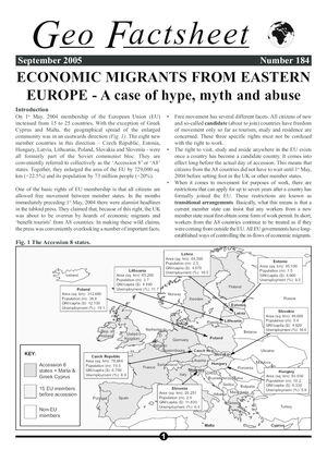 184 Economic Migrants