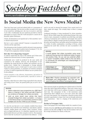 199 Is Social Media The New News Media