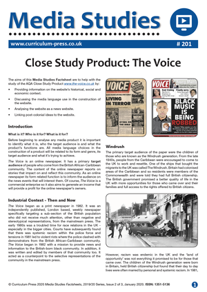 201 Close Study Product The Voice v2