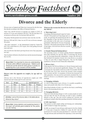 201 Divorce And The Elderly