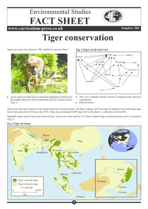 203 Tiger Conservation