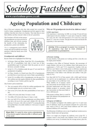 206 Ageing Population And Childcare